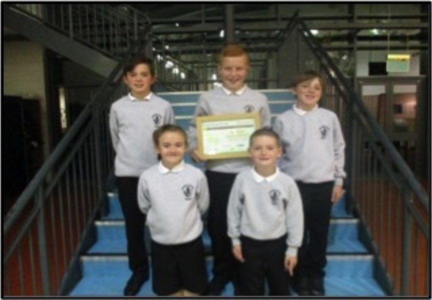"Tipperty School Win ""Formartine in Bloom"" Award"