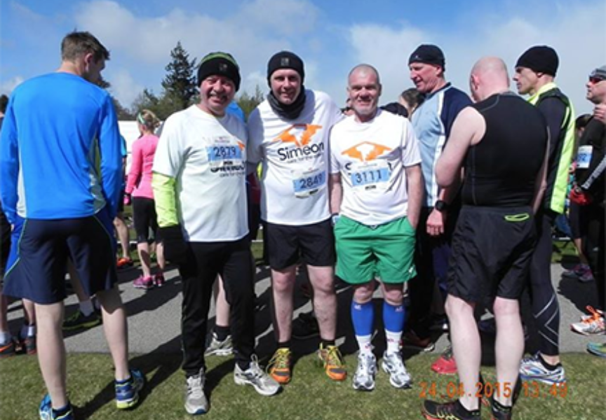 Run Balmoral sees Connon Brothers raise a further £2000 for  Simeon Care