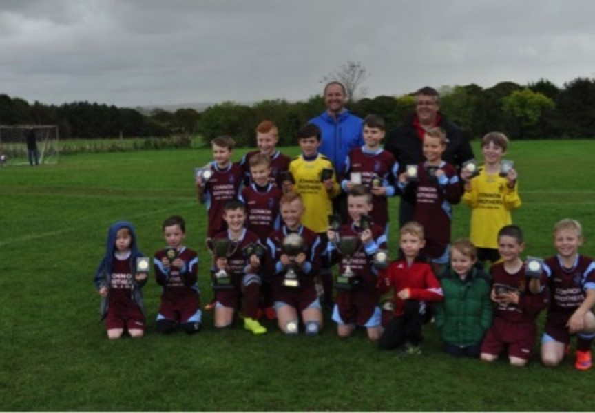 Tipperty School Football Team Triumph in Strathythan Small Schools League
