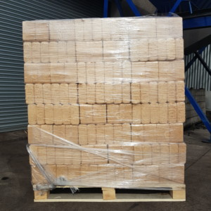 RUF Kiln Dried Compressed Birch Hardwood pallet